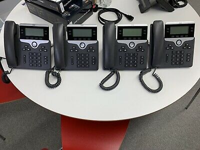 Cisco CP-7841 VOIP Telephones X4 • 64.99£