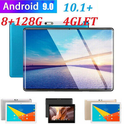 10.1  HD Tablet PC 8G+128G 10 Core Android 9.0 Dual SIM Camera Wifi Phablet Uk • 57.99£