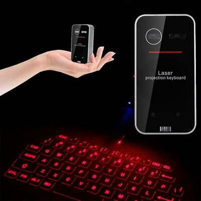 Wireless Bluetooth Laser Projection Virtual Keyboard For PC Tablet Laptop IR • 27.99£