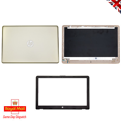 HP 15-BS 15T-BR 15Q 15-BW LCD Screen Top Lid Cover Gold L03440-001 | AP2040001A1 • 47.50£