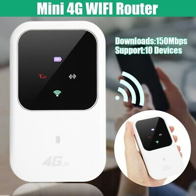 Unlocked 4G LTE Mobile Broadband WiFi Wireless Router Portable MiFi Hotspot UK • 19.88£
