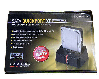 SATA HDD Hard Disk USB Docking Station • 6.50£
