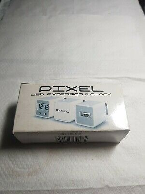 Pixel USB Extension And Clock. New In Box.  • 0.99£