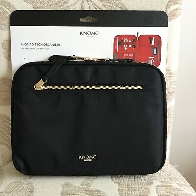 """KNOMO Knomad  Black And Red 10.5"""" Tech Organiser - BNWT  • 29.50£"""