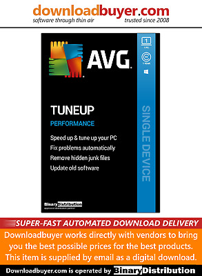 AVG PC TuneUp 2020 - 1 PC - 1 Year [Download] • 9.99£