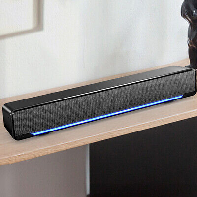 Powerful USB Multimedia Stereo Speakers System For PC Laptop Computer Desktop • 17.52£