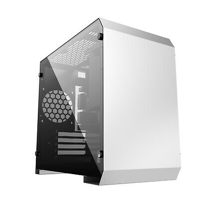 Tempered Glass Pc Gaming  Case Micro Atx Cube Usb C - Ionz Kz17  • 44.95£