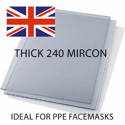 A4 A5 A6 Acetate Sheets Clear Transparency Packs Of 10 And 20. Best Value. • 6.40£