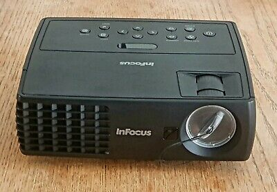 InFocus Small Portable Projector IN1112aHD Ready Black Ideal Films & Gaming • 61£