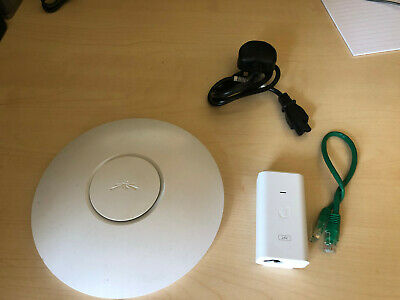 Ubiquiti Unify UAP Wireless Access Point AP & PoE UniFi  • 29.99£