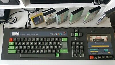 Amstrad CPC 464, Working And Tested • 25£