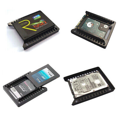 Adapter Mounting SSD Hard Drive Holder Metal 2.5  To 3.5  Bracket HDD Double New • 4.79£