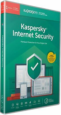Kaspersky Internet Security 2020 | 1 Device | 1 Year | PC/Mac/Android | License • 5£