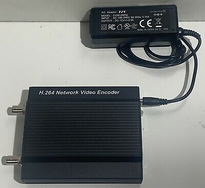 Supercircuits H.264 Network Video Encoder With Power Supply + Cord • 39.99£