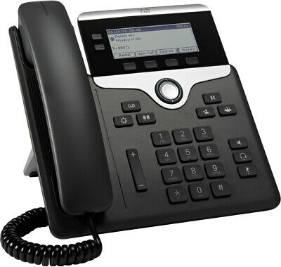 Cisco IP Phones 7821 With Multi Platform Phone, POE - CP-7821-3PCC-K9= Inc VAT • 49.99£