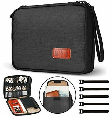 NEW - Cable Organiser Bag,Travel Electronics Accessories Bag Organiser • 15.99£