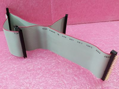 44 Pin 25cm Female 15cm Male VEGA E189529 VW-1 105° 300V 2651 Flat Ribbon Cable • 11.82£