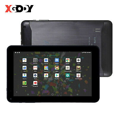 XGODY Cheap Android Tablet PC 9 Inch Bundle Case 1+16GB Dual Cam WIFI Quad Core • 56.39£