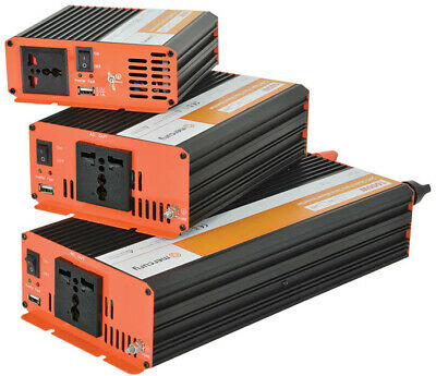 Pure Sine Wave Inverter 12Vdc - 1000W • 188£