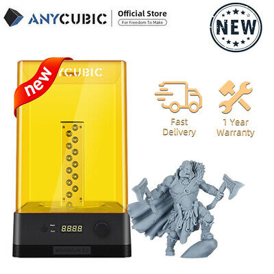 UK Anycubic Wash & Cure 2 In 1Machine For UV LCD Resin 3D Printer Photon Mono X • 129£