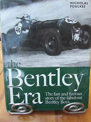 The Bentley Era The Fast And Furious Story Of The Fabulous Bentley Boys Hardback • 35.99£