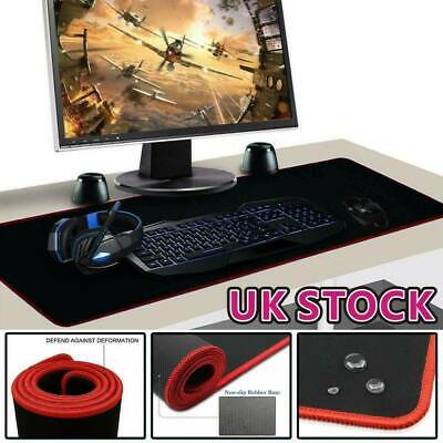 60cm X 30cm Gaming Mouse Pad Mat Extra Large Xl Anti-Slip For PC Laptop Macbook • 2.99£