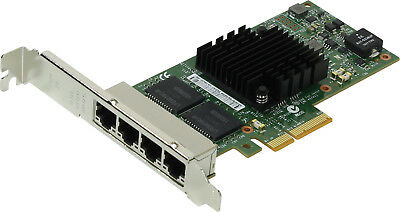 Dell Intel I350-t4 1gb Rj-45 Quad Port Full Height Network Card Thgmp 0thgmp • 49.42£