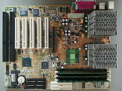 Abit Bp6 Dual CPU Motherboard With 2x Celeron 400 And RAM • 21£