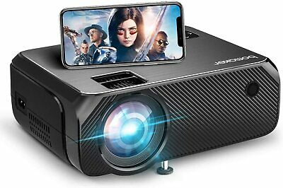 WiFi Projector BOMAKER GC355 6000 Lux Wireless Screen Mirroring Outdoor Movie • 49.99£