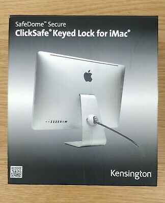 Kensington SafeDome Cable Lock Secure - ClickSafe Keyed For IMac - BRAND NEW • 27.50£