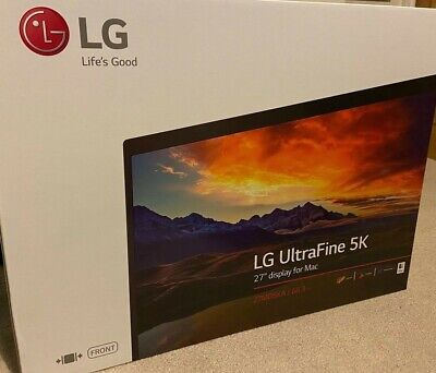 LG (27MD5KA-B) Ultrafine 5k 27'' Monitor - Black • 255£