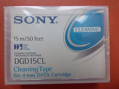 Sony DGD15CL DDS Cleaning Tape For 4mm Data Cartridge NEW SEALED 15m 50 Feet • 4.99£