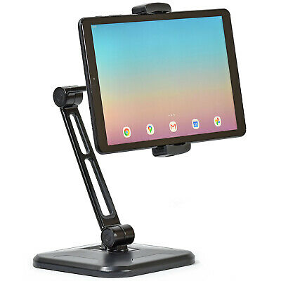 Sturdy Tablet Desk Or Table Mount Stand IPad Android Samsung Kindle TAD10A31B • 18.95£