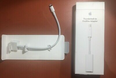 Official Apple Thunderbolt To FireWire Adapter BNIB 0.2m • 25£