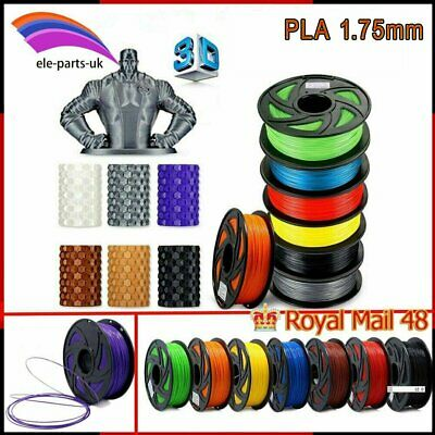 3D Printer Filament 1kg1.75mm 3mm  New PLA Multiple Color For MakerBot RepRap • 16.29£