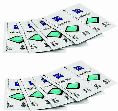 60 X ZEISS Cleaning Tablet Wipes Alcohol Free Lens Laptop Camera LCD TV Screen  • 3.39£