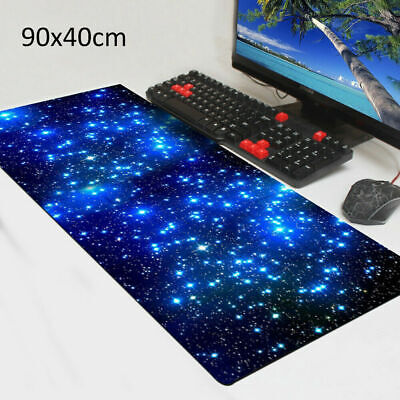Extra Large XL Galaxy Gaming Mouse Pad Mat For PC Laptop Anti-Slip 90cm*40cm • 6.99£