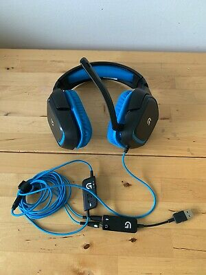 Logitech Wired Gaming Headset G430 Great Condition • 20£