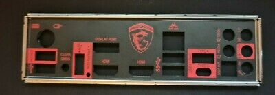 I/O Shield For MSI GAMING M7 Motherboard Backplate IO • 4.99£