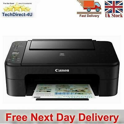 Canon PIXMA TS3355 All-In-One Inkjet Printer Home Office Printer Inks Included • 69.99£