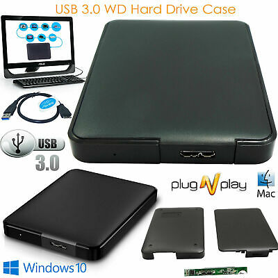 USB 3.0 2.5 Inch Hard Drive Enclosure SATA HDD SSD Caddy Case For LAPTOP PC DVR • 6.55£