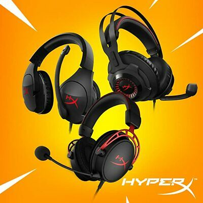 HYPER X CLOUD II PRO ALPHA REVOLVER STINGER Gaming Headset For PC PS4 Mac Mobile • 47.99£