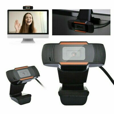 HD Webcam With Microphone HD Video Camera USB For PC Desktop Laptop Mic • 15.99£