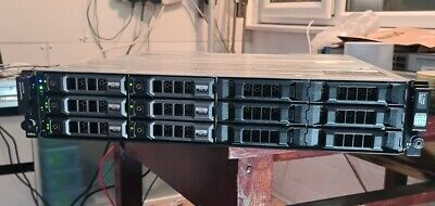 Dell PowerVault MD3200i, 12 X 2TB SAS, Dell HDDs. Dual Controllers. • 255£