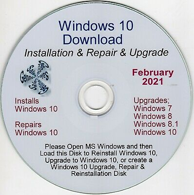 Genuine Windows 10 Upgrade, Install, Repair By Download & CD With Support  • 15£