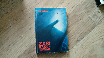 Sinclair ZX81 Book - BASIC PROGRAMMING Guide Book • 1£