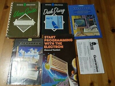 Collection Of Acorn Electron Books / Manuals • 9.99£