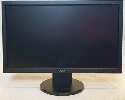 Acer V193A 19  Monitor With Stand - Used - Good Condition • 25£