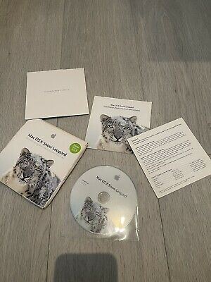 Mac OS X Snow Leopard 10.6.3 Install Disc And Papers • 11.50£