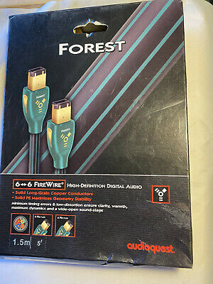 Audioquest Forest Fire Wire 6 Pin To 6 Pin 1.5 Mtr • 24.95£